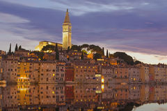 Rovinj at sunset. Croatia. Stock Photography