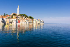 Rovinj - town in Croatia, Istria Stock Photo