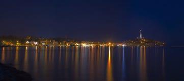 Rovinj Town Panorama stock photography