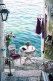 Rovinj - ville en Croatie, Istria Images stock