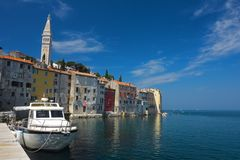 Rovonj, Croatia Royalty Free Stock Photos
