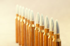 A row of ammunition Stock Images