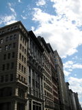 Row of Apartment Buildings NYC Stock Photos