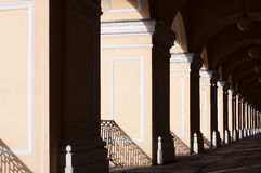 Row of arch, archway, architectural element. Outdoor Royalty Free Stock Photography