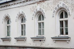 Row of arched window Stock Photo