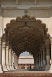 A row of arches. In the Red Fort Agra Royalty Free Stock Image
