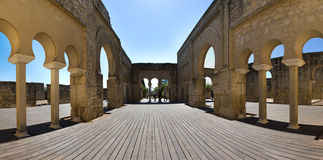 Row of Arches in Medina Azahara Royalty Free Stock Photo