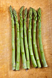 A Row of Asparagus Royalty Free Stock Photography