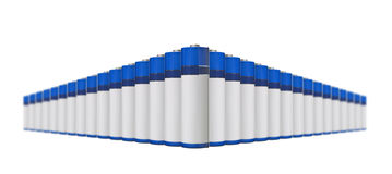 Row of battery Stock Photography