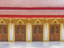 A row of beautiful door Royalty Free Stock Photos