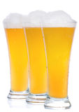 Row of beer Royalty Free Stock Photos