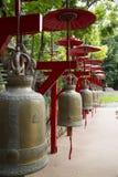Row of bells Stock Photos