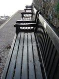 Row Of Benches royalty free stock photos