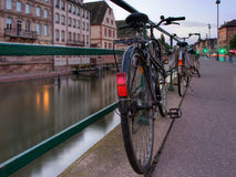 Row of bicycle Royalty Free Stock Photography