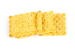Row of biscuits Royalty Free Stock Image