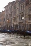 Italian Water Gondolas royalty free stock photography