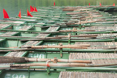 Row of Boats Royalty Free Stock Photography
