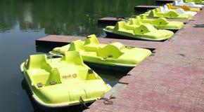 row-of-boats Royalty Free Stock Photography