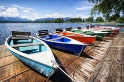 Row boats Royalty Free Stock Photo
