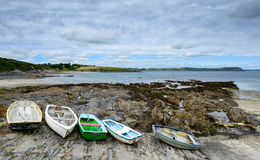 Row of Boats Stock Images