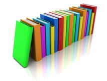 Row of book Royalty Free Stock Photos