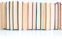 Row of books Stock Photos
