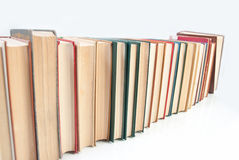 Row of books Royalty Free Stock Photos