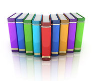 Row books Royalty Free Stock Photography
