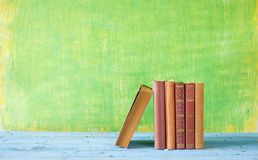 Row of books, Stock Images