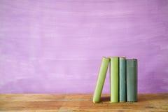 Row of books Stock Image