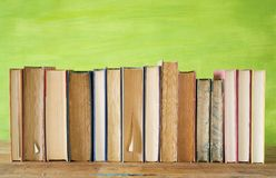 Row of books Stock Photography
