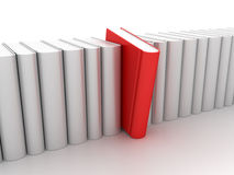 Row of Books - Learning Concept Royalty Free Stock Photos
