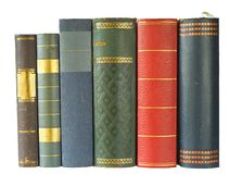 Row of books Royalty Free Stock Photography