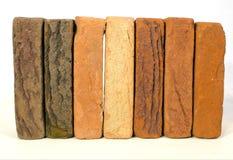 Row of bricks Stock Image