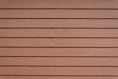 Row of brown Shera wood wall Stock Image