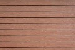 Row of brown Shera wood wall Stock Image