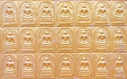 The row of buddha Stock Images