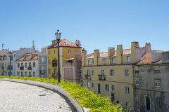 Row of buildings in Lisbon, Portugal Stock Photo