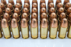 Row of bullet Royalty Free Stock Photo