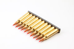 Row of Bullets Royalty Free Stock Photos
