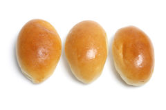 Row of Buns Royalty Free Stock Images