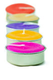 Row of candle Stock Photography