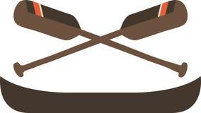 Row Canoe Stock Images