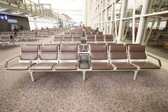 Row of chair Royalty Free Stock Photo