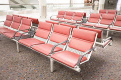 Row of chair Royalty Free Stock Images