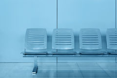 Row of chair Royalty Free Stock Photography