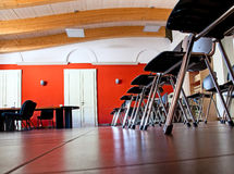 Row of chairs. Royalty Free Stock Photography