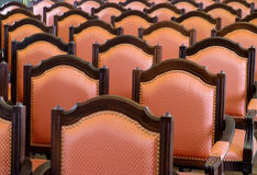 Row of chairs Royalty Free Stock Photo