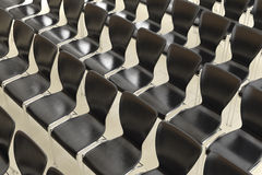 Row of chairs Stock Images