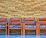 A row of chairs Stock Photos
